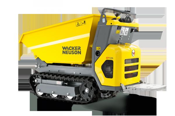 Гусеничный думпер DT05 Wacker Neuson 001