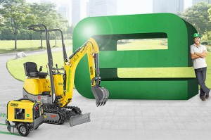 Экскаватор 803 dual power Wacker Neuson 001