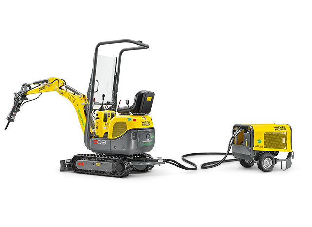 Экскаватор 803 dual power Wacker Neuson 002