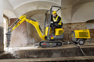 Экскаватор 803 dual power Wacker Neuson 008