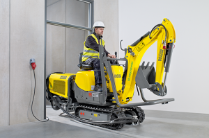 Экскаватор 803 dual power Wacker Neuson 013