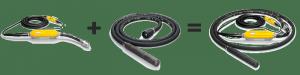 Wacker Neuson Высокочастотный глубинный вибратор FUflex IRflex IRFUflex 001