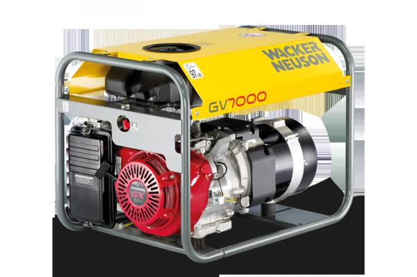 Wacker Neuson Электрогенератор GV 7000 A 5000009348 001