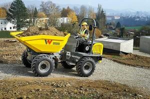 Колесный думпер DW50 Wacker Neuson 002