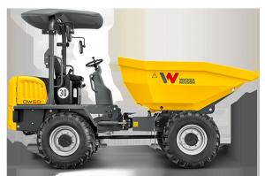Колесный думпер DW50 Wacker Neuson 007