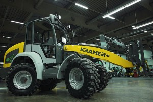 Колесный погрузчик 5055e Wacker Neuson Kramer 009