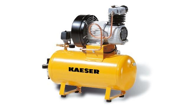 Стационарный поршневой компрессор KCT горизонтальный