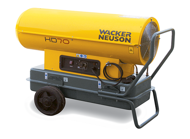 Тепловая пушка HD70 Wacker Neuson 001