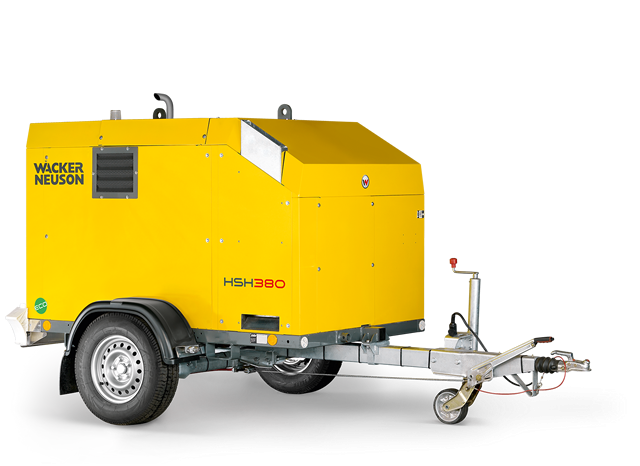 Установка для прогрева грунта и бетона HSH380 Wacker Neuson 001
