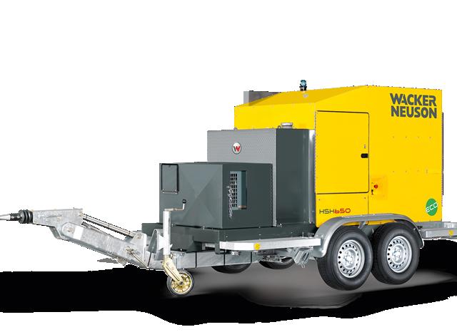 Установка для прогрева грунта и бетона HSH650 Wacker Neuson 001